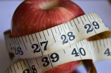 Apple & tape measure 2 Weight man Promo